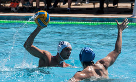 WATERPOLO MATCH Royalty Free Stock Images
