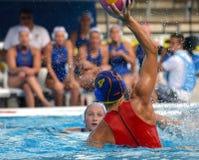 Waterpolo mięśnie Fotografia Stock