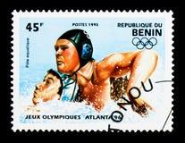 Waterpolo, olimpiady seria około 1995, Zdjęcia Royalty Free