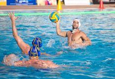 Waterpolo player Royalty Free Stock Photo
