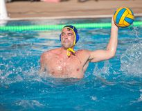 Waterpolo player Royalty Free Stock Image