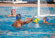 Waterpolo players Stock Photos