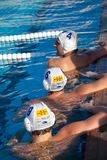 Waterpolo players Stock Images