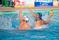 Waterpolo players Stock Image