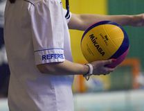 Waterpolo referee Stock Photos