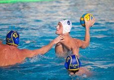 Waterpolo Spieler Stockfoto