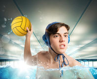 Waterpolo Stock Image