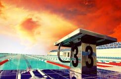 Waterpool Stock Photo