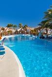 Waterpool bij het eiland van Tenerife Royalty-vrije Stock Afbeelding