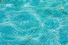 Waterpool bottom texture Royalty Free Stock Images