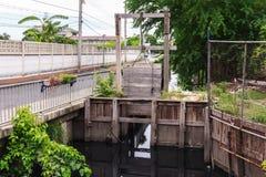 Waterpoort royalty-vrije stock foto's