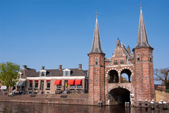 Waterpoort Sneek Firesland Royalty Free Stock Images