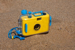 Waterproof camera Stock Photography