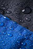 Waterproof coating background. With water drops royalty free stock images
