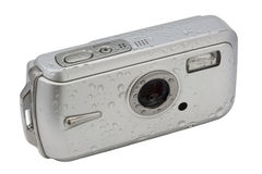 Waterproof digital camera Royalty Free Stock Photography