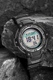 waterproof elektronisk watch Royaltyfria Bilder