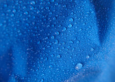 Waterproof fabric closeup. Closeup detail of waterproof fabric Stock Photography