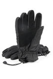 Waterproof gloves. With white background,outdoor sports equipment royalty free stock photo