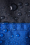 Waterproof textile background Royalty Free Stock Images