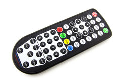 Waterproof TV remote control. On white background Stock Photo