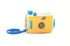 Waterproof underwater camera Royalty Free Stock Photography