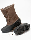 Waterproof winter boots Royalty Free Stock Photos