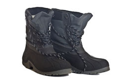 Waterproof winter boots Stock Images
