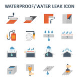Waterproofing vector icon Stock Image