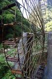 Waterrad in Drie Klovenfamilie Royalty-vrije Stock Fotografie