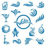 Waters design royalty free illustration