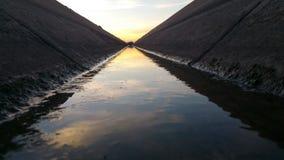 Waters edge stock photo