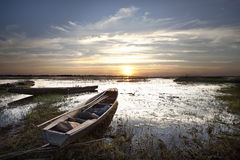 Waters and fisheries. Stock Images