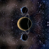 Waters reflection and Planets Royalty Free Stock Photo