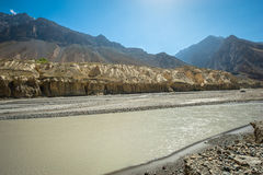 Waters of river Spiti Royalty Free Stock Photo