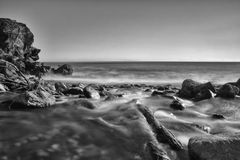 Waterscape在加利福尼亚 免版税库存照片