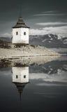 Waterscape σε Liptovska Mara, Σλοβακία Στοκ φωτογραφίες με δικαίωμα ελεύθερης χρήσης