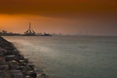 waterscape Кувейта Стоковое Изображение