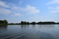 Waterscape in Brandenburg, Duitsland stock foto