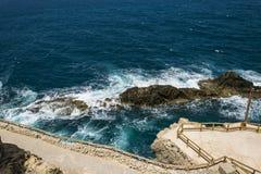 Waterscape costero Imagenes de archivo