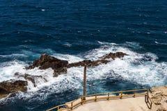 Waterscape costero Imagen de archivo libre de regalías