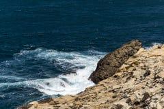 Waterscape costero Fotos de archivo