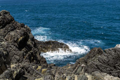 Waterscape costero Imagen de archivo