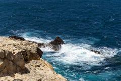 Waterscape costero Imágenes de archivo libres de regalías