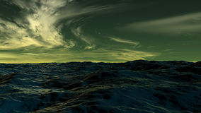 Waterscape d'océan Photographie stock