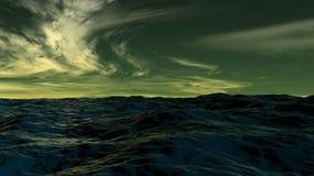 Waterscape del océano Fotografía de archivo