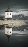 Waterscape in Liptovska Mara, Slowakije Royalty-vrije Stock Foto's