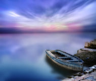 Free Waterscape Long Exposure Landscape Dream Boat Stock Photos - 57512423