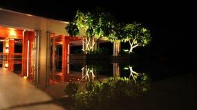 waterscape mandarinoriental de sanya Fotografia de Stock