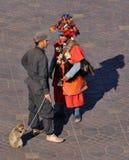 Waterseller à Marrakech photographie stock libre de droits