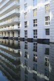 Waterside buildings Royalty Free Stock Images